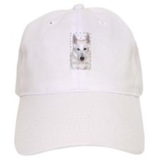 White German Shepherd Dog - A Baseball Baseball Cap