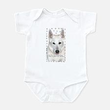 White German Shepherd Dog - A Infant Creeper