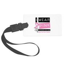 Mother-in-Law Breast Cancer Luggage Tag