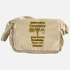 Informatics Competency Messenger Bag