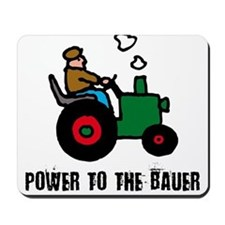 power to the bauer (farmer) Mousepad