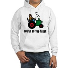 power to the bauer (farmer) Hoodie