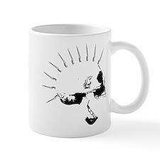 punks not dead skull Mug