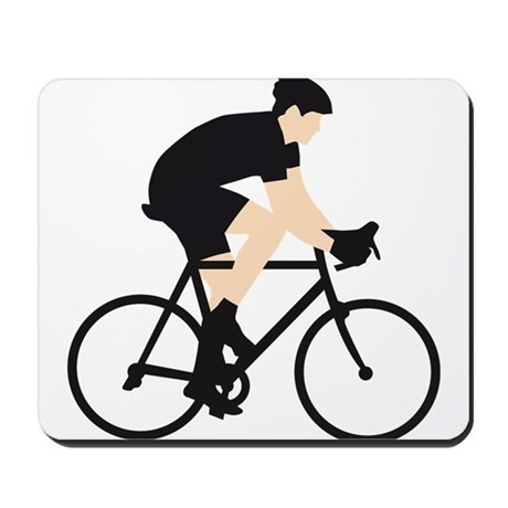 evolution bicycle race Mousepad