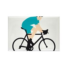 evolution bicycle racer Rectangle Magnet