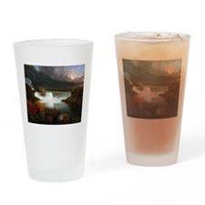 Thomas Cole Niagara Falls Drinking Glass