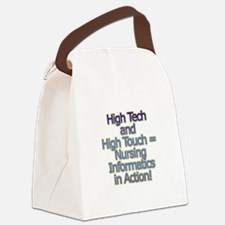 High Tech Canvas Lunch Bag