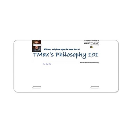 You like this TMax logo Aluminum License Plate