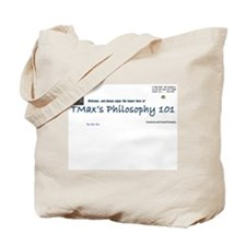 You like this TMax logo Tote Bag