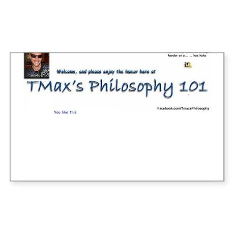 You like this TMax logo Sticker (Rectangle 50 pk)