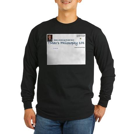 You like this TMax logo Long Sleeve Dark T-Shirt