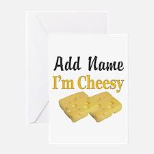I LOVE CHEESE Greeting Card
