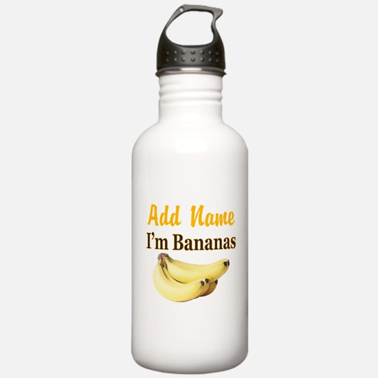 I LOVE BANANAS Water Bottle