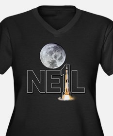 A TRIBUTE DESIGN TO NEIL ARMSTRONG Women's Plus Si