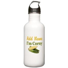 I LOVE CORN Water Bottle