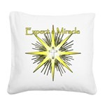 Christian Miracle Square Canvas Pillow