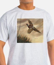Pheasant Ash Grey T-Shirt