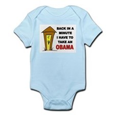 OBAMA OUTHOUSE Infant Bodysuit