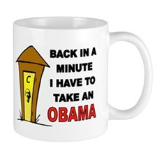 OBAMA OUTHOUSE Mug
