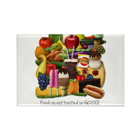 Gluten Free Foodpile (for light backgrounds) Recta