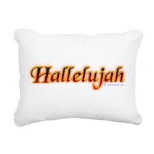 hallelujah_fire.png Rectangular Canvas Pillow