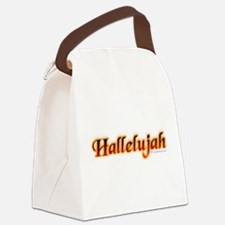 hallelujah_fire.png Canvas Lunch Bag