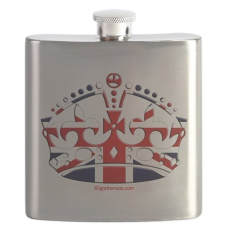 Royal British Crown Flask