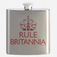 Rule Britannia Flask
