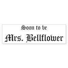Mrs Bellflower Bumper Bumper Sticker