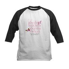 Gluten Free Alphabet Pink Tee