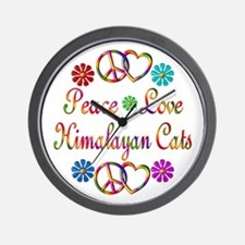 Himalayan Cats Wall Clock