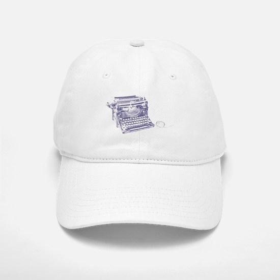 Vintage keyboard and mouse Baseball Baseball Cap