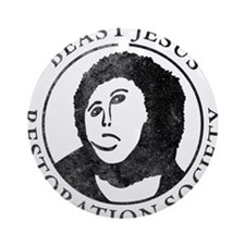 Beast Jesus Restoration Society Ornament (Round)