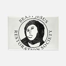 Beast Jesus Restoration Society Rectangle Magnet