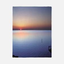 Low Beach Sunset (OBX) Twin Duvet