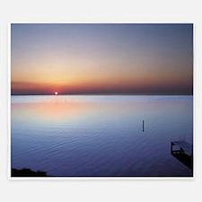Low Beach Sunset (OBX) King Duvet