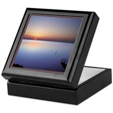 Low Beach Sunset (OBX) Keepsake Box
