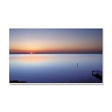 Low Beach Sunset (OBX) Car Magnet 20 x 12