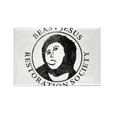 BEAST-JESUS Restoration Society Rectangle Magnet