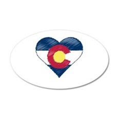 I Love Colorado Wall Decal