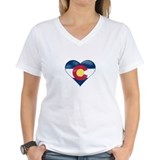 Colorado Womens V-Neck T-shirts