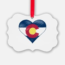 I Love Colorado Ornament