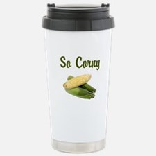 I LOVE CORN Travel Mug