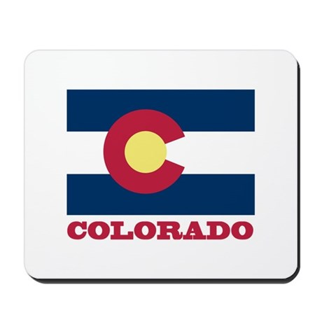 Colorado State Flag Mousepad