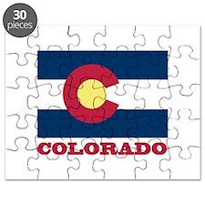 Colorado State Flag Puzzle