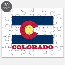 Colorado State Flag Puzzle