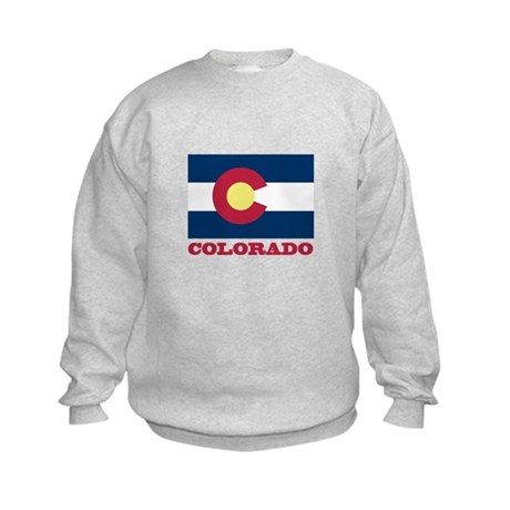 Colorado State Flag Kids Sweatshirt