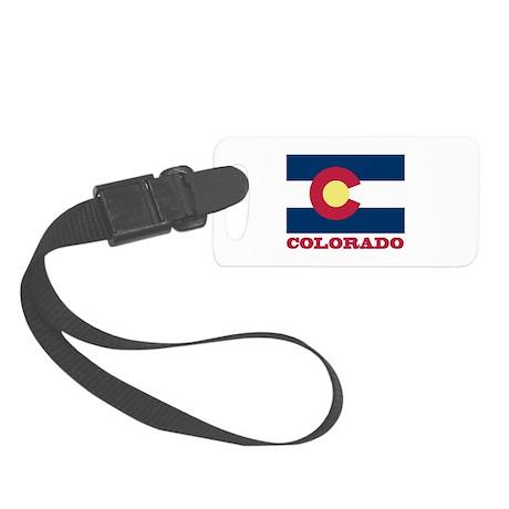 Colorado State Flag Small Luggage Tag