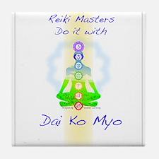 Reiki Masters Tile Coaster