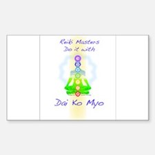 Reiki Masters Decal